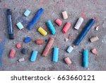 Colorful Chalk.
