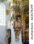 steingaden  germany   june 5 ... | Shutterstock . vector #663678199