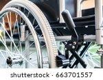 Detail Of A Wheelchair