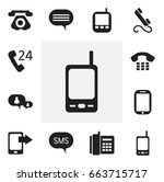 set of 12 editable device icons....