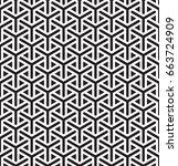 seamless geometric arabian... | Shutterstock .eps vector #663724909
