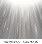 light flare special effect with ... | Shutterstock .eps vector #663725455