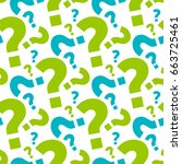 question background | Shutterstock .eps vector #663725461