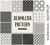 abstract concept vector... | Shutterstock .eps vector #663739129