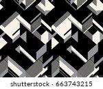vector seamless pattern. modern ...