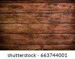 wood texture background  wood...   Shutterstock . vector #663744001
