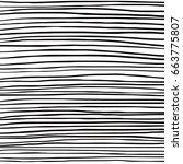 hand drawn lines vector | Shutterstock .eps vector #663775807