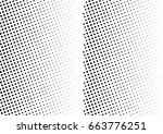 abstract halftone dotted...   Shutterstock .eps vector #663776251