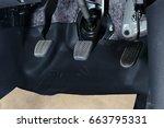 car pedals | Shutterstock . vector #663795331
