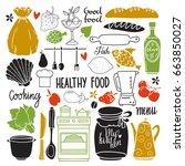 Kitchen Utensil  Cooking Food...