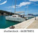 Kaprije Island  Croatia April...