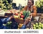 Woman Selling Fresh Local...
