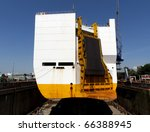 ship in dry dock | Shutterstock . vector #66388945