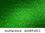 light green vector christmas... | Shutterstock .eps vector #663891811
