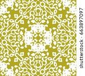abstract oriental seamless...   Shutterstock .eps vector #663897097