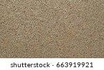 fiberboard wooden plate ...   Shutterstock . vector #663919921