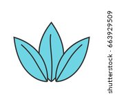 apothecary herbs color icon....   Shutterstock .eps vector #663929509