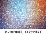 light blue  red vector... | Shutterstock .eps vector #663944695