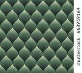 Green Seamless Curved Diamonds...