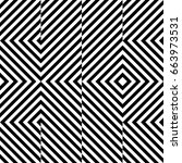 vector seamless pattern.... | Shutterstock .eps vector #663973531
