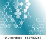 abstract background of the... | Shutterstock .eps vector #663983269