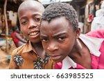 lilongwe  malawi   september 05 ... | Shutterstock . vector #663985525
