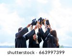 celebration education... | Shutterstock . vector #663997399