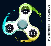 vector illustration of... | Shutterstock .eps vector #664028101