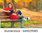outdoor technology nature... | Shutterstock . vector #664029085