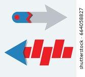 creative arrow vector 3d button ...