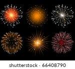 fireworks   Shutterstock .eps vector #66408790