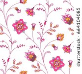 light seamless pattern for your ... | Shutterstock .eps vector #664104085