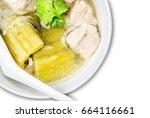 pork bone soup | Shutterstock . vector #664116661
