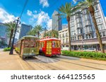 new orleans  louisiana  usa... | Shutterstock . vector #664125565