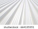 trapezoidal sheet | Shutterstock . vector #664135351
