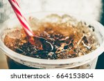 Refreshing bubbly soda pop with ...