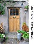 Doorway Of A Beautiful Old...
