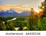 Grand Teton National Park At...