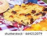 regional brazilian typical cake | Shutterstock . vector #664212079