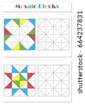 collect the correct sequence of ... | Shutterstock . vector #664237831