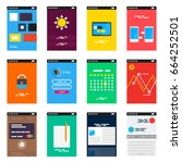 isometric mobile app ui design ...