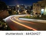 lombard street at night | Shutterstock . vector #66426427