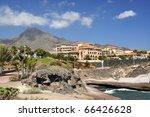 rocky coast of costa adeje... | Shutterstock . vector #66426628