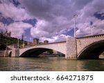 Small photo of Pont Bonaparte /lyon/france
