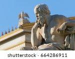 Classical Statue Of Socrates...