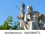 Classical Statue Of Socrates...