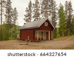 Small House In The Coniferous...