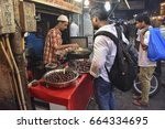 mumbai  india   july 3  2015  ... | Shutterstock . vector #664334695