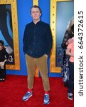 "Small photo of LOS ANGELES, CA. December 3, 2016: Writer/director Garth Jennings at the world premiere of ""Sing"" at the Microsoft Theatre LA Live."