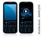 vector illustration of mobile...   Shutterstock .eps vector #66441193